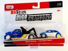 Imagem - Caminhão Prancha c/ Volkswagen Beetle - Elite Transport - AllStars 1:64 - Maisto