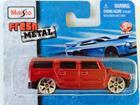 Imagem - Hummer: H2 - Vermelha - Fresh Metal - 5 cm - Maisto