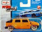 Imagem - Hummer: H2 Concept (2001) - Laranja - Fresh Metal - 7 cm - Maisto