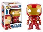 Imagem - Boneco Iron Man - Capitão América Guerra Civil - Pop! Marvel 126 - Funko