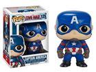 Imagem - Boneco Captain América - Capitão América Guerra Civil - Pop! Marvel 125 - Funko