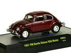 Imagem - Volkswagen: Beetle / Fusca Deluxe USA Model (1967) Borgonha - M2 Machines - 1:64