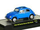 Imagem - Volkswagen: Beetle / Fusca Deluxe USA Model (1953) Azul - M2 Machines - 1:64
