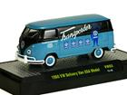 Imagem - Volkswagen: Kombi Van Delivery USA Model (1960) Azul / Preto - 1:64 - M2 Machines