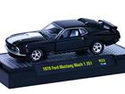 Ford: Mustang Mach 1 351 (1970) Preto - M2 Machines - 1:64
