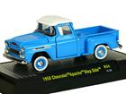 Imagem - Chevrolet: Apache Pickup Step Side (1958) Auto-Trucks - Azul - M2 Machines - 1:64