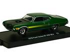 Ford: Torino GT 429 SCJ (1970) - Auto Drivers - Verde - M2 Machines - 1:64
