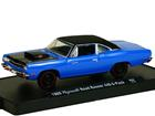 Plymouth: Road Runner 440 6-Pack (1969) - Azul e Preto - 1:64 - M2 Machines