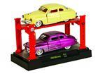 Imagem - Set: Ford Mercury (1949) - Amarelo/ Roxo - 1:64 - Auto Lift