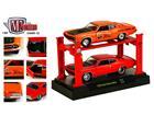 Imagem - Set: Ford Torino Cobra (1970) - Laranja / Vermelho - 1:64 - Auto Lift