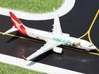 Imagem - Qantas: Boeing 737-800 - 1:400 - Gemini Jets