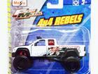 Imagem - Chevrolet: Silverado (1999) - 4x4 Rebels - Fresh Metal - Branco - 1:48 - Maisto
