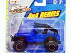 Imagem - Jeep: Wrangler Rubicon 4X4 Rebels - Fresh Metal - 1:35 - Maisto