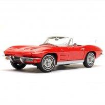 Imagem - Chevrolet: Corvette Sting Ray (1963) - Vermelho - 1:18 - Autoart