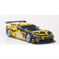 Imagem - Chevrolet: Corvette C6R ALMS (2007) #4 - Amarelo - 1:18 - Autoart
