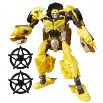 Imagem - Boneco Transformers Bumblebee - Transformers: O Último Cavaleiro - Premier Edition - Hasbro
