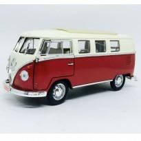 Volkswagen: Kombi (1962) - Vermelha - 1:18 - Yat Ming