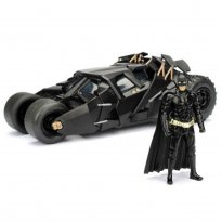 Imagem - Batmóvel: Batman The Dark Knight - c/ Figura - Metals Die Cast - 1:24 - Jada Toys