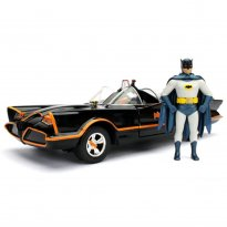 Imagem - Batmóvel: Batman Classic TV Series (1966) - c/ Figura - Metals Die Cast - 1:24 - Jada Toys