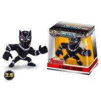 Imagem - Boneco Black Panther M502 - Marvel Avengers - Metals Die Cast - 2.5'' 6cm - Jada Toys