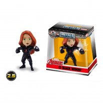 Imagem - Boneco Black Widow M503 - Marvel Avengers - Metals Die Cast - 2.5'' 6cm - Jada Toys