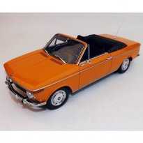 Imagem - BMW: 1600 Conversível (1967) - Laranja - 1:18 - Minichamps