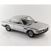 Imagem - BMW: 3.0 CSL (1972) - Prata - 1:18 - Minichamps
