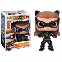 Imagem - Boneco Catwoman (Mulher-Gato) - Batman Classic Tv Series - Pop! Heroes 43 - Funko