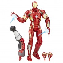 Imagem - Boneco Iron Man Mark 46 - Capitão America Guerra Civil - Marvel Legends Series - Hasbro
