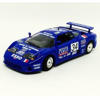 Imagem - Bugatti: EB110 Super Sport #34 - 24H Le Mans (1994) Azul - 1:24 - Burago