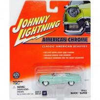 Imagem - Buick: Super (1953) - Verde - American Chrome - 1:64 - Johnny Lightning