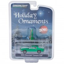 Imagem - Chevrolet: Camaro Z28 (1970) - Holiday Ornaments - Série 1 - 1:64 - Greenlight