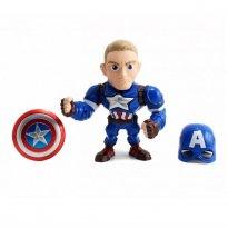 Imagem - Boneco Captain America M56 - Capitão América Guerra Civil - Avengers - Marvel - Metals Die Cast - Jada Toys