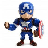 Imagem - Boneco Captain America M45 - Capitão América Guerra Civil - Avengers - Marvel - Metals Die Cast - Jada Toys