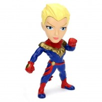 Imagem - Boneco Captain Marvel M350 - Marvel - Metals Die Cast - Jada Toys