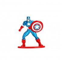 Imagem - Boneco Captain America MV10 - Avengers - Nano Metalfigs - Jada Toys