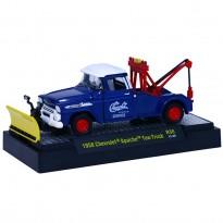 Imagem - Chevrolet: Apache Tow Truck (1958) - Auto Trucks - Azul - 1:64 - M2 Machines