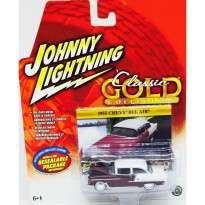 Imagem - Chevrolet: Bel Air (1955) - Classic Gold Collection - 1:64 - Johnny Lightning