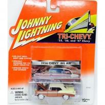 Imagem - Chevrolet: Bel Air (1956) - Tri-Chevy - 1:64 - Johnny Lightning