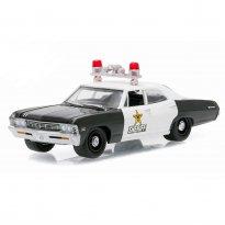 Imagem - Chevrolet: Biscayne (1967) - Polícia - Hot Pursuit - Série 20 - 1:64 - Greenlight