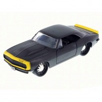 Imagem - Chevrolet: Camaro (1967) Preto - Bigtime Muscle - 1:24 - Jada