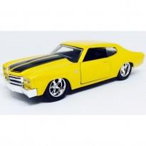 Imagem - Chevrolet: Chevelle SS (1970) - Amarelo - Bigtime Muscle - 1:32 - Jada