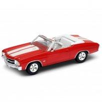 Imagem - Chevrolet: Chevelle SS 454 (1971) Conversível - Vermelho - 1:34-1:39 - Welly
