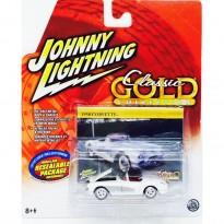 Imagem - Chevrolet: Corvette (1958) - Branco - 1:64 - Johnny Lightning