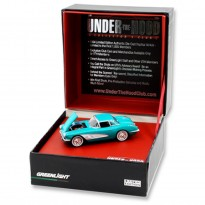 Imagem - Chevrolet: Corvette (1958) - Under The Hood - Verde - 1:64 - Greenlight