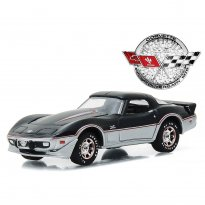 Imagem - Chevrolet: Corvette (1978) - 25th Anniversary Edition - 1:64 - Greenlight