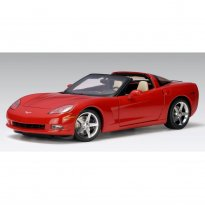 Imagem - Chevrolet: Corvette C6 Coupe (2005) - Vermelho - 1:18 - Autoart