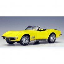 Imagem - Chevrolet: Corvette - Daytona (1969) - Amarelo - 1:18 - Autoart