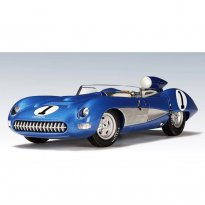 Imagem - Chevrolet: Corvette SS #1 (1957) - Azul - 1:18 - Autoart