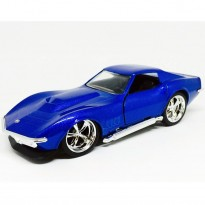 Imagem - Chevrolet: Corvette Stingray ZL-1 (1969) - Azul - Bigtime Muscle - 1:32 - Jada